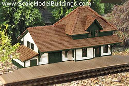 Scale model railroad news for Railroad depot plans
