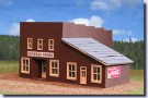 old west store in N scale